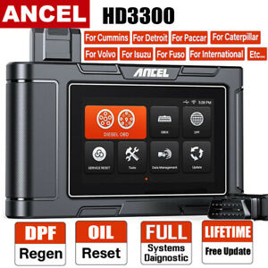 Diesel Heavy Duty Truck Scanner Dpf Regen Hd Obd Car Code Reader Diagnostic Tool