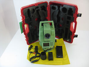 Leica Tcra705 R300 Ultra Total Station Only For Surveying One Month Warranty