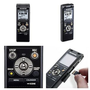 Olympus Digital Voice Recorder Stereo Usb Micro Sd Card Slot 8gb Internal Memory