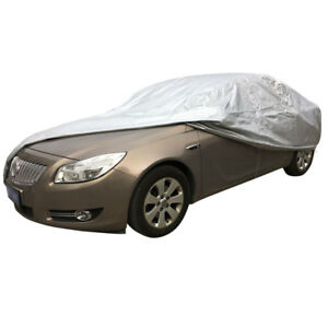 Size 3xl Durable Universal Silver Uv Waterproof Outdoor Full Set Car Cover