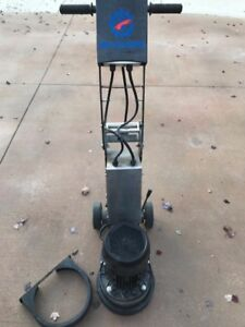 10 Inch Single Head Concrete Grinder Variable Speed 220 Volt Single Phase Htg