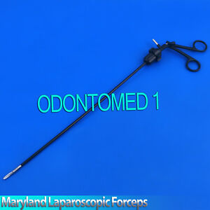 Maryland Dissector Curved Laparoscopic Forceps 330mm Laparoscopy lp 037