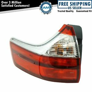 Rear Outer Tail Light Lamp Assembly Lh Driver Side For Toyota Sienna New