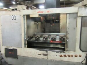 2 Used Haas Vf 3 And Vf 1 Vertical Machining Center New 1993 And 1991