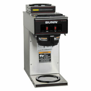 Bunn Pourover Coffee Brewer With 2 Warmers vp17 2 0002