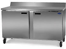Fogel Worktop Refrigerator 2 section 15 7 Cu Ft Sst 59