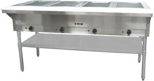 Adcraft 4 Bay Open Well Steam Table Model St 240 4