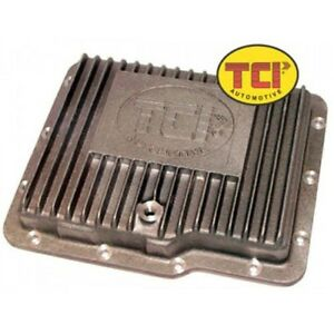 Tci Automotive 528300 Cast Aluminum Transmission Pan For Gm Powerglide