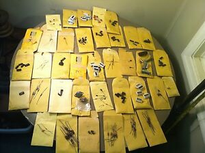 Huge Mixed Lot Resistors Semiconductors Transistors Capacitors Diodes Chips Etc