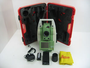 Leica Tcp1205 Total Station For Surveying One Month Warranty
