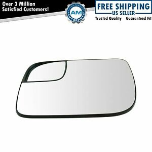 Mirror Glass 5 25 Inch With Convex Spotter Driver Side Left Lh For Ford Explorer
