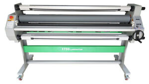 1630mm 64 Automatic Hot Cold Laminator Roll Laminating 80 Heat Assist take Up