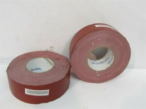 Waterproof Tape 7510000744978 2 1 2 X 60 Yds Red All Temp 1 Lot Of 2 Rolls