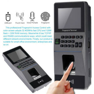 Biometric Fingerprint Access Control Tcp ip Rs485 Rfid Reader Attendance Machine