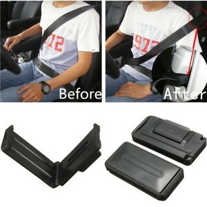 2pc Seatbelt Clip Seat Belt Buckle Adjuster Support Safety Comfort Aid Extender