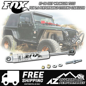 Fox 2 0 Performance Series Ifp Steering Stabilizer For 97 06 Jeep Wrangler Tj Lj