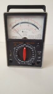 Triplett Model 60 na Suspension Volt Ohm Meter Multimeter 03
