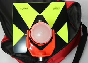 Sokkia Single Prism With Black green Target For Sokkia Total Station Surveying