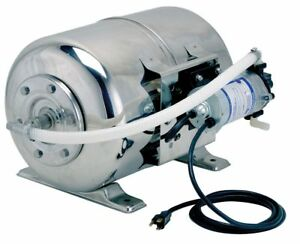 Shurflo 1 3 Hp Intermittent Water Booster Single Phase 115 Voltage 0 9 Amps