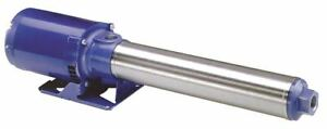 Goulds Water Technology 2 Hp Multi stage Booster Pump 1 Phase 115 230 Voltage