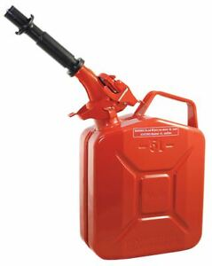 Wavian Gas Can 1 Gal Red Include Spout 2238 5
