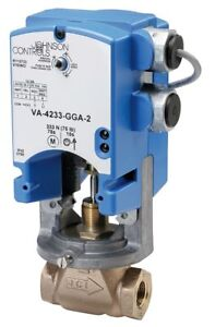 Johnson Controls On off Electric Globe Valve Actuator 76 Sec Cycle Time 61