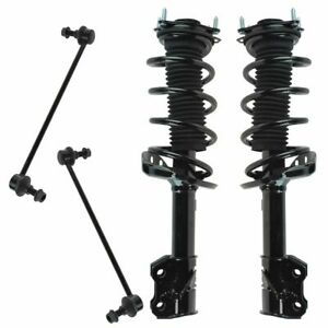 4 Piece Suspension Kit Complete Loaded Strut Assemblies W Sway Bar End Links
