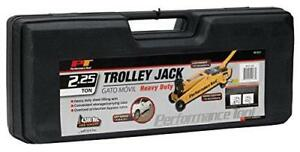 Performance Tool 2 1 4 Ton Trolley Jack With Case W1611