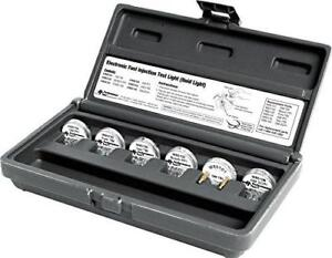 Performance Tool 6 Piece Electronic Fuel Injection Test Light Noid Light Set