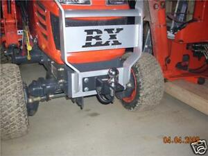 Kubota Tractor Bx Series Front Receiver Hitch Can Also Custom Build For Others