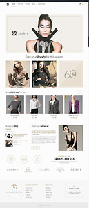 Premium Ecommerce Domain Website Content Afterfivedress com Online Store