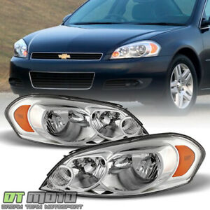2006 2013 Chevy Impala 07 Monte Carlo Headlight Headlamps Replacement Left Right