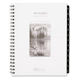 Acco At a glance Executive Fashion Weekly monthly Planner Refill White Each