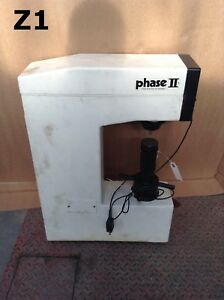Phase Ii 900 311 Analog Rockwell Hardness Tester 6 6 Throat 10kgf