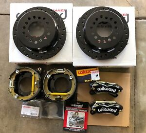 Ford 9 Inch Big Bearing Torino Wilwood 11 Dynapro Rear Disc Parking Brake Kit