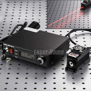 1w 655nm 660nm 1000mw Red Semiconductor Laser Dot Module Tec ttl analog Power