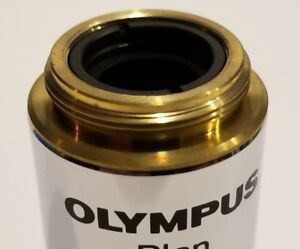 Olympus Plan 10x 0 25 Microscope Objective Lens New In Box Last One Guaranteed