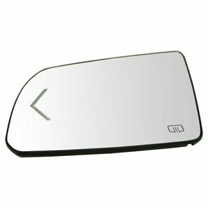 Side View Mirror Glass Assembly Turn Signal W Backing Plate Lh For Toyota Truck