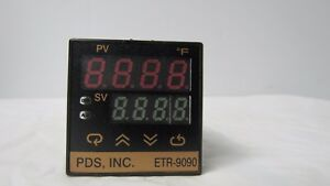 Pds Inc Etr 9090 Temperature Control Relay broken Red Bulb