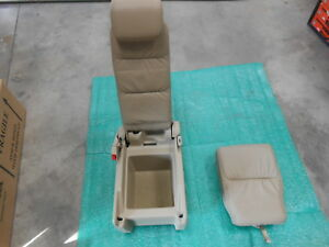 Honda Odyssey Oem 2nd Row Middle Jump Seat Beige Leather 2005 2010