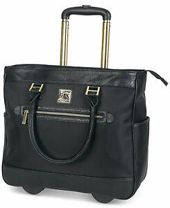 Kenneth Cole Reaction call It Off 16 Rolling Business Tote 539555