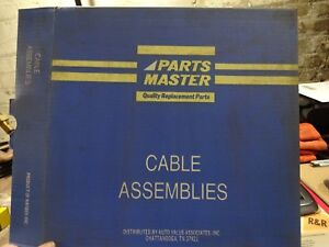 Parts Master Clutch Cable Assembly For 1974 75 Ford Mustang Ii Part 62302