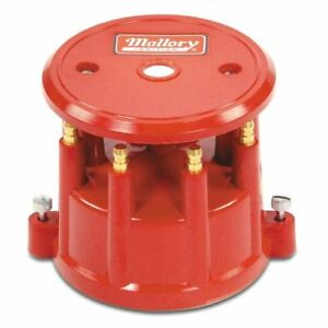 Mallory Ignition 208m Hei Style Distributor Cap Red