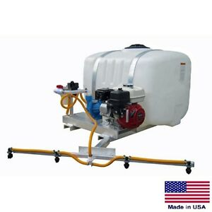 Sprayer De icer Commercial Skid Mounted 100 Gal Tank 8 Ft Boom 170 Psi