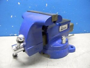 Gibraltar Bench Pipe Combination Vise W Broken Base 8 1 2 Jaw Width 42057190