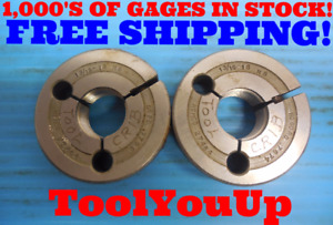 13 16 18 Ns Thread Ring Gages 8125 Go No Go P d 7720 7674 Inspection