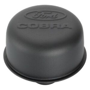 Proform 302 226 Blk Crinkle Push In Valve Cover Air Breather Cap W Ford Cobra