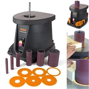 Oscillating Spindle Sander Sanding Down Curves Arcs Contours Woodworking Tools