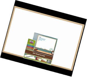 The Board Dudes 23 X 35 Wood Frame Magnetic Surface Dry Erase Board