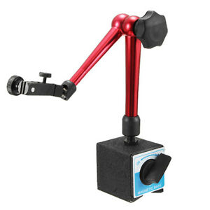 Universal Flexible Magnetic Base Holder Stand Tool For Dial Indicator Test Heigh
